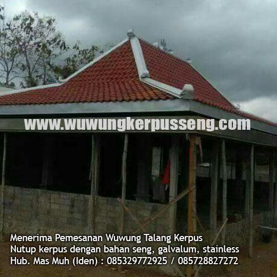 wuwung seng atap rumah baru