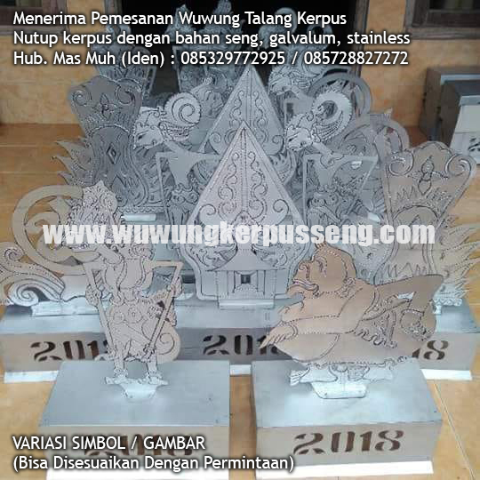 wuwung seng hias variasi simbol gambar